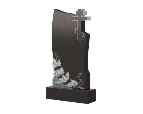 Гранитный памятник Лавр и Крест