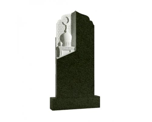 Мусульманский вертикальный памятник на могилу Мечеть