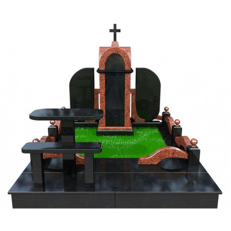 Семейный элитный мемориальный комплекс на могилу
