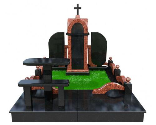 Семейный элитный мемориальный комплекс - 3D модель