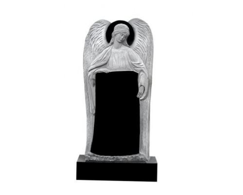 Гранитный резной памятник с Ангелом sp1606