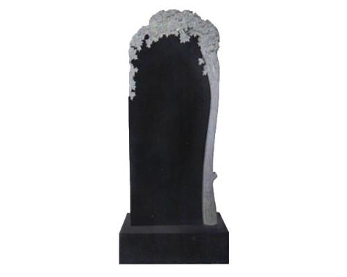 Памятник вертикальный с деревом sp01419