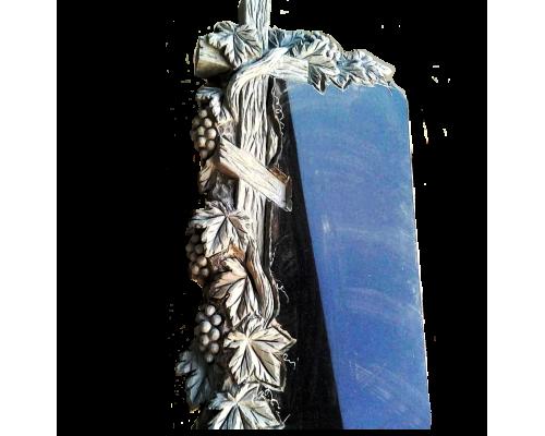 Памятник Крест обвитый виноградом sp01479
