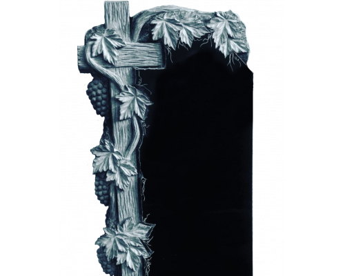 Крест с виноградной лозой на могилу sp01478