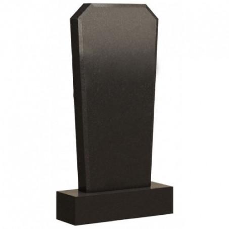 Типовой памятник вертикальный со скошенными углами