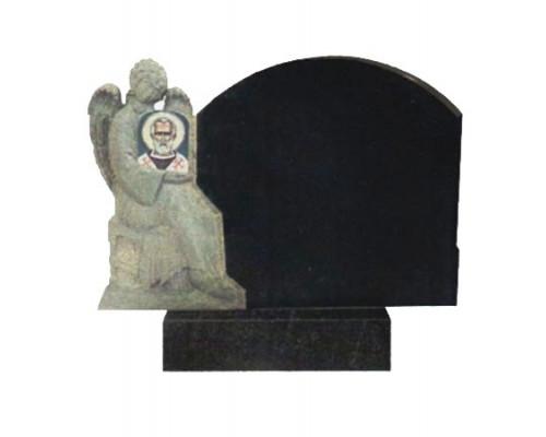 Гранитный памятник с Ангелом sp01462