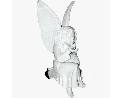Ангелок из мрамора арт3