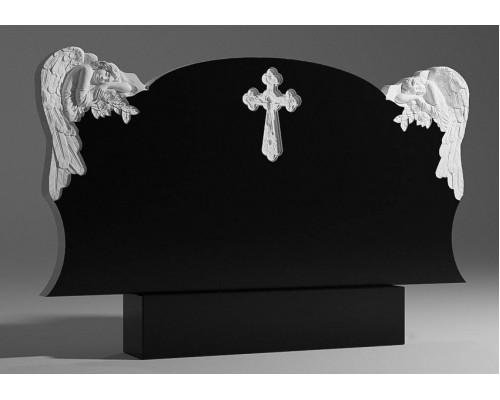 Двойной памятник c Ангелами sp01351