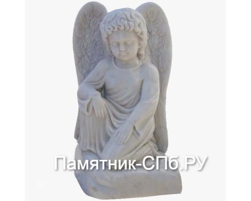 Ангел на облаке мраморный