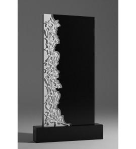 Памятник с резными лилиями sp01368