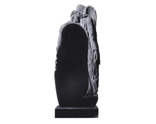 Памятник вертикальный с резным Ангелом sp01416