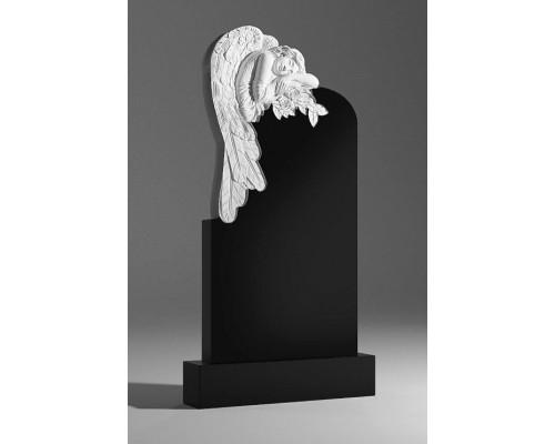 Памятник Ангел с цветами sp0091