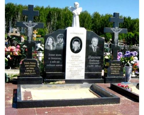Мемориальный семейный памятник с Ангелом sp1580