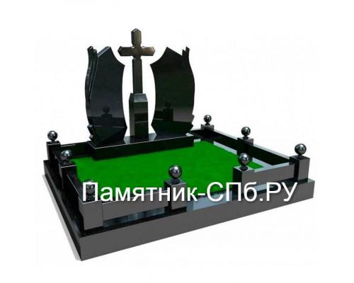 Мемориальный комплекс на могилу №17