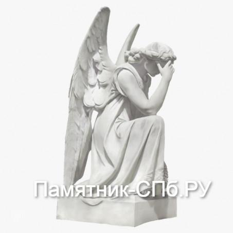 Скорбящий ангел на могилу