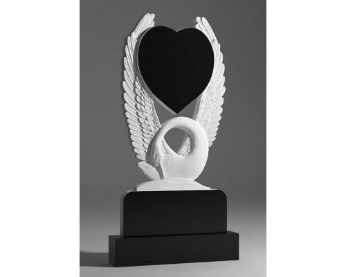 Памятник Лебедь с Сердцем sp01355