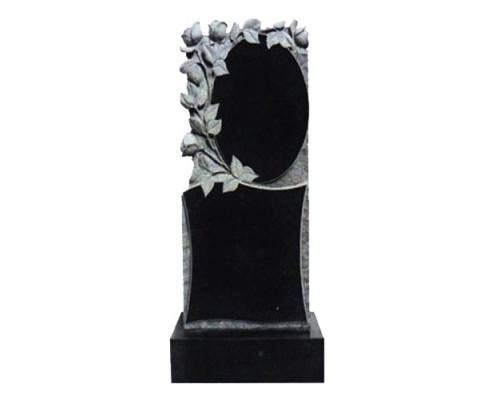 Памятник вертикальный с розами sp01415