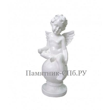 Скульптура ангелочка на памятник