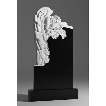 Гранитный памятник Спящий Ангел