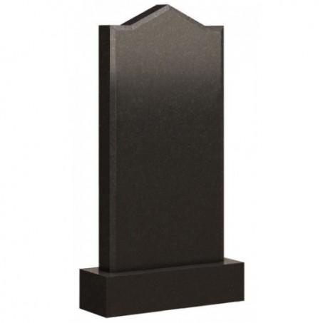 Стандартный вертикальный памятник из гранита с плечиками