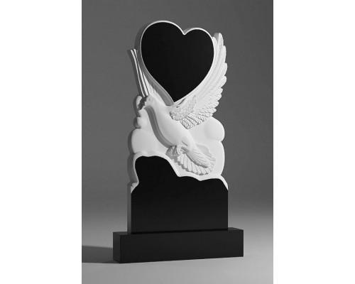 Памятник Голубь с Сердцем sp01357