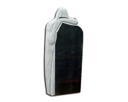 Памятник на могилу фигурный №07 1400х600х100 мм (зелёный)