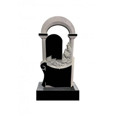 Памятник на могилу Розы в Арке и свиток