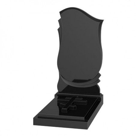 Памятник недорогой экономный №58 (L) 1000х500х50