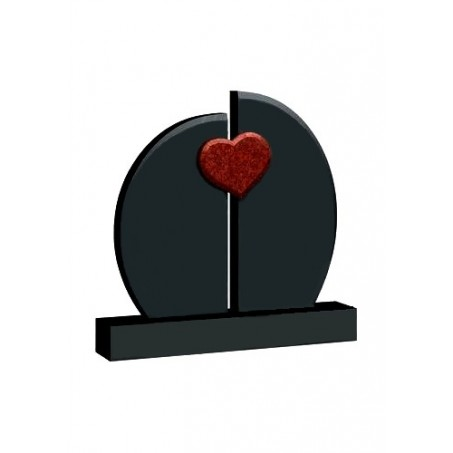 Памятник на двоих с Сердцем №04