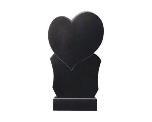 Памятник вертикальный с сердцем sp01405