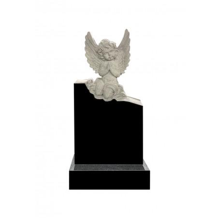 Гранитный памятник на могилу с Ангелом