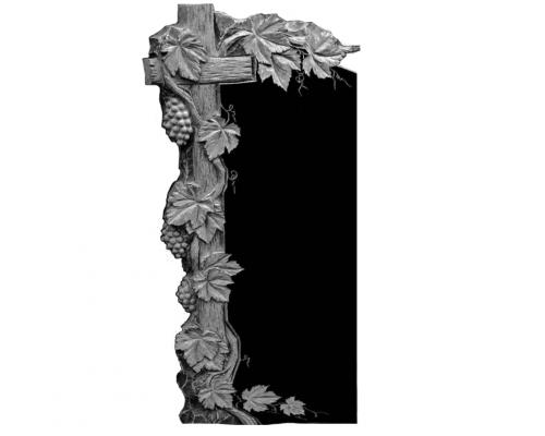 Памятник с виноградной лозой и Крестом sp01477