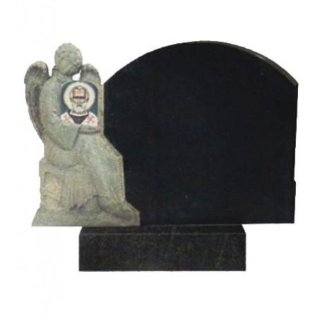 Горизонтальный памятник на могилу с Ангелом