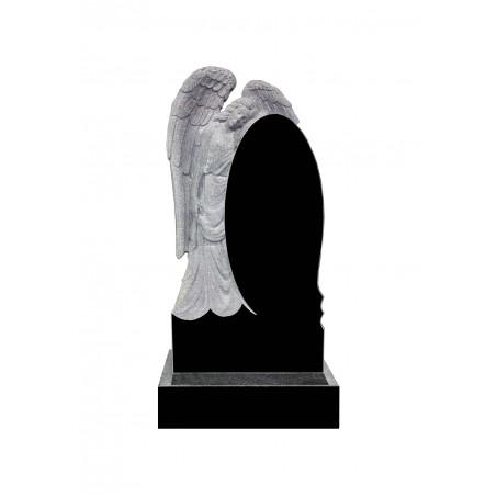 Памятник Ангел с овалом
