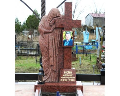 Памятник на могилу со скульптурой Скорбящей
