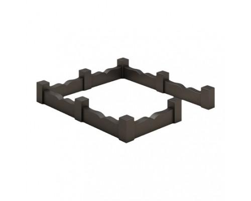 Ограда из волнистого поребрика sp01531
