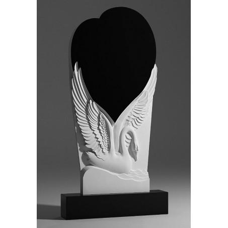 Памятник Лебедь и Сердце sp01354