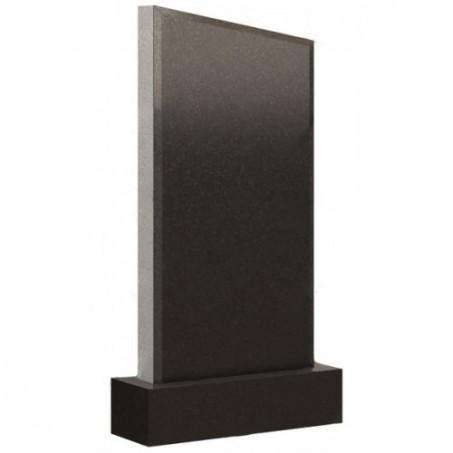 Стандартный вертикальный прямоугольный памятник со скошенным верхом
