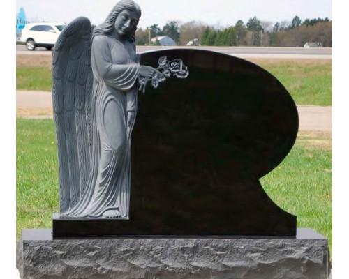 Памятник из гранита с Ангелом sp01610